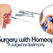 ENT surgery: Homeopathy