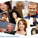 Homeopathy healing Celebrities